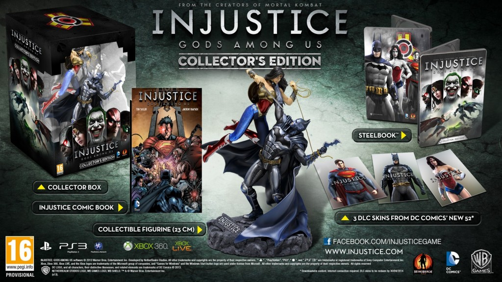 coffret injustice