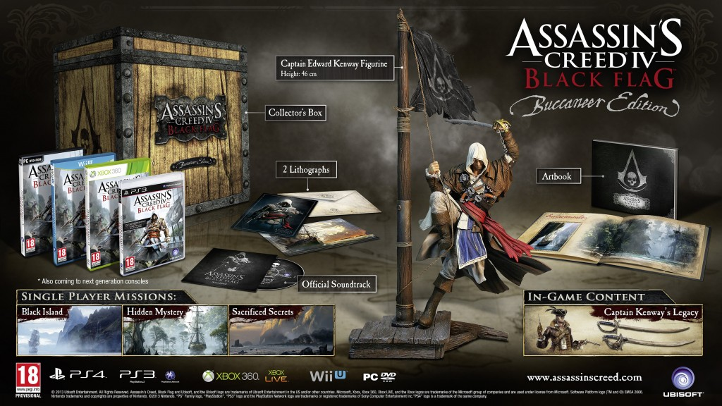 assassin's creed 4 buccaneer edition
