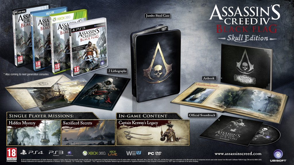 assassin's creed 4 skull edition