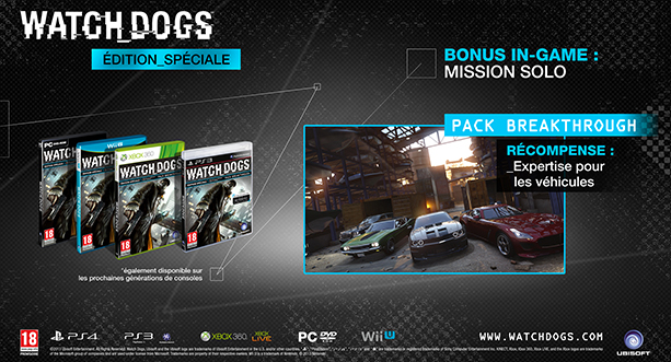 SPECIAL EDITION Watch Dogs