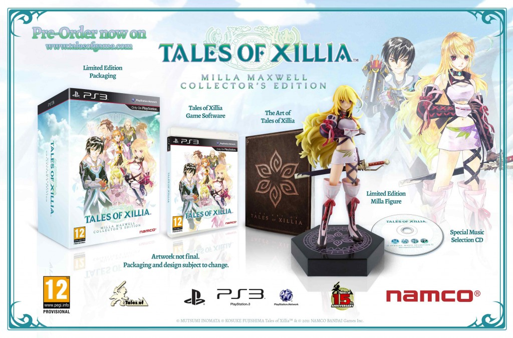tales of xilia collector