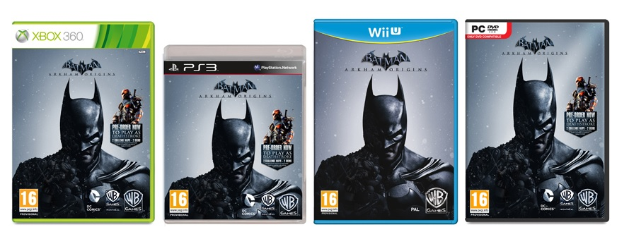 box art batman arkham origins