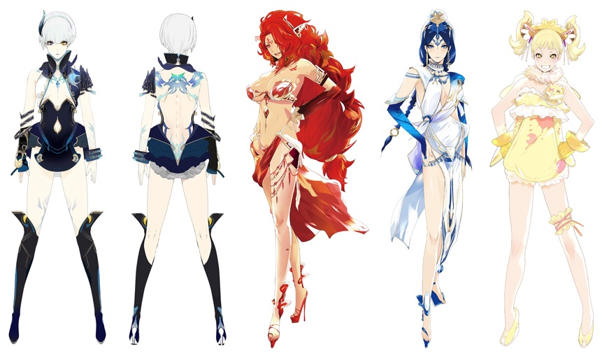 deception-IV-blood-ties-personnages