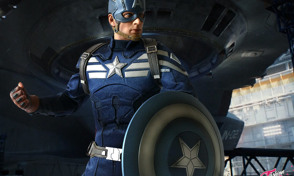 Captain America – Winter Soldier – Hot Toys -Unboxing