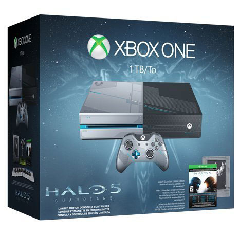Unboxing Xbox One collector Halo 5
