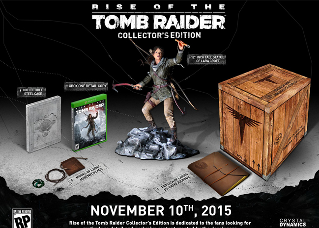 Unboxing Rise Of the Tomb Raider