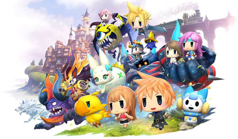 Test World Of Final Fantasy