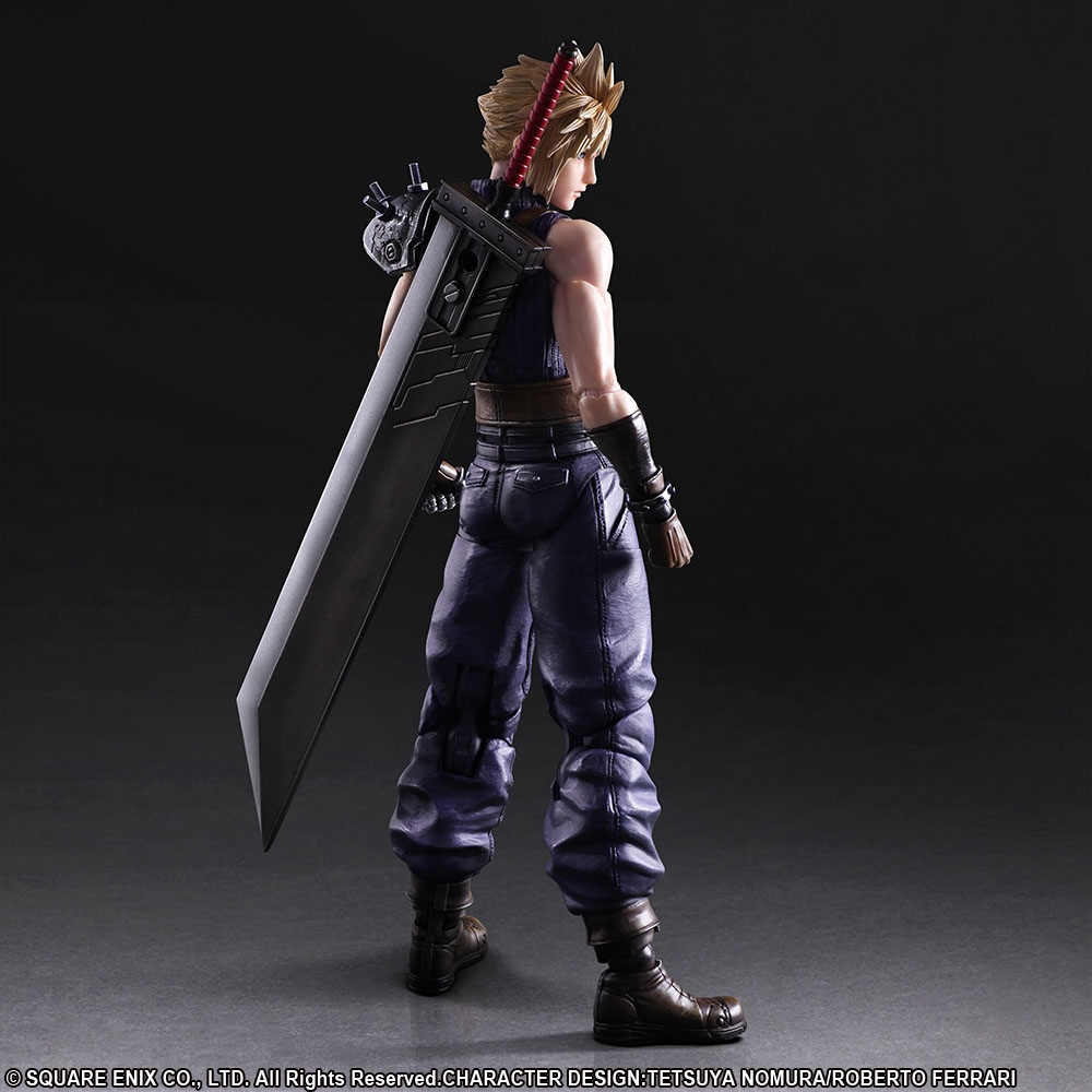 Cloud Strife Play Arts Kai