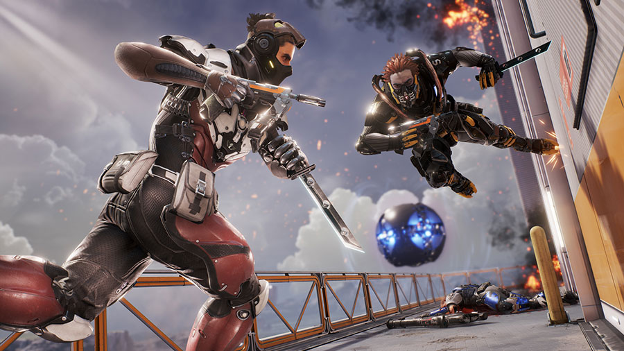 Test Lawbreakers PS4