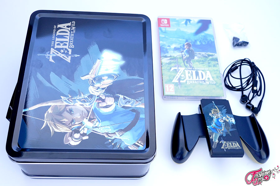 unboxing pack fnac lunch box the legend of zelda switch. Black Bedroom Furniture Sets. Home Design Ideas