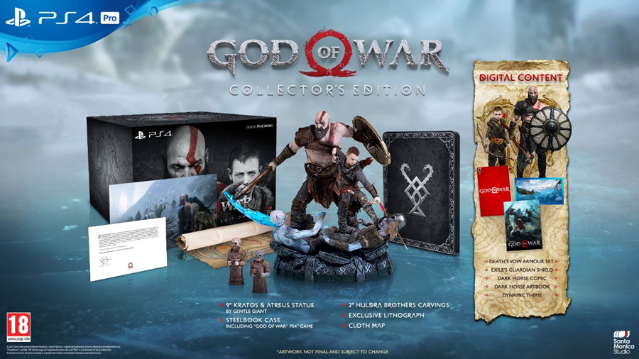 God of War Edition Collector