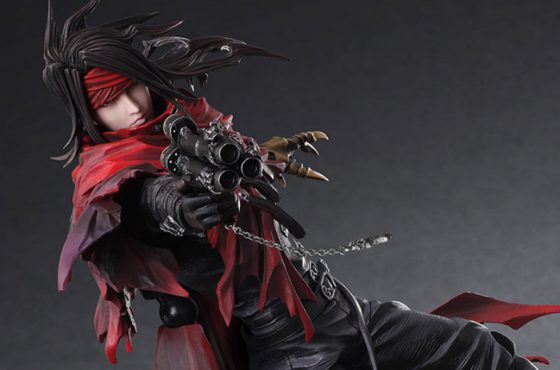 Une sublime Play Arts Kai de Vincent Valentine – Final Fantasy VII