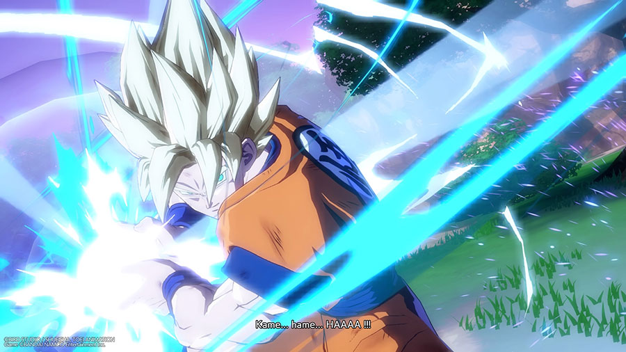 Test Dragon Ball Fighter Z