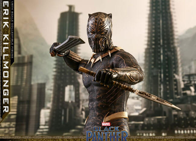 Hot Toys dévoile sa sublime future figurine de Killmonger