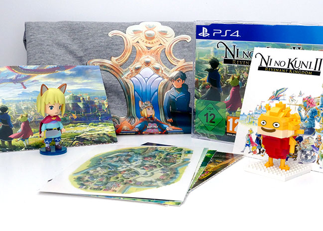 Présentation du Press Kit de Ni No Kuni II