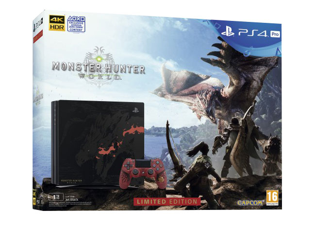 PS4 Pro Collector Rathalos Edition Unboxing