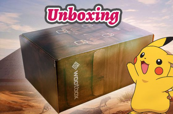 Unboxing Wootbox février 2018 : Power