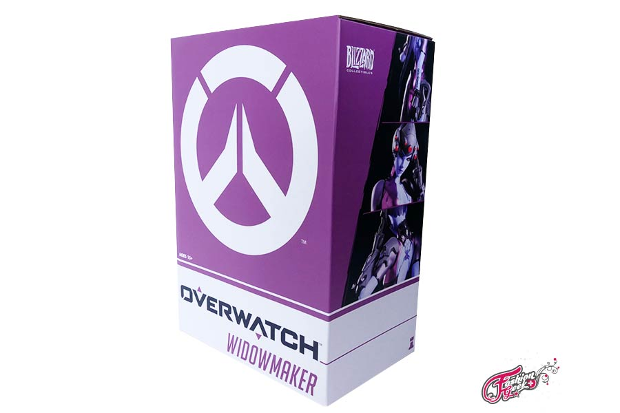 Unboxing Widowmaker Statue
