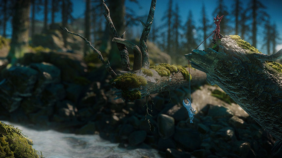 Test Unravel Two PS4