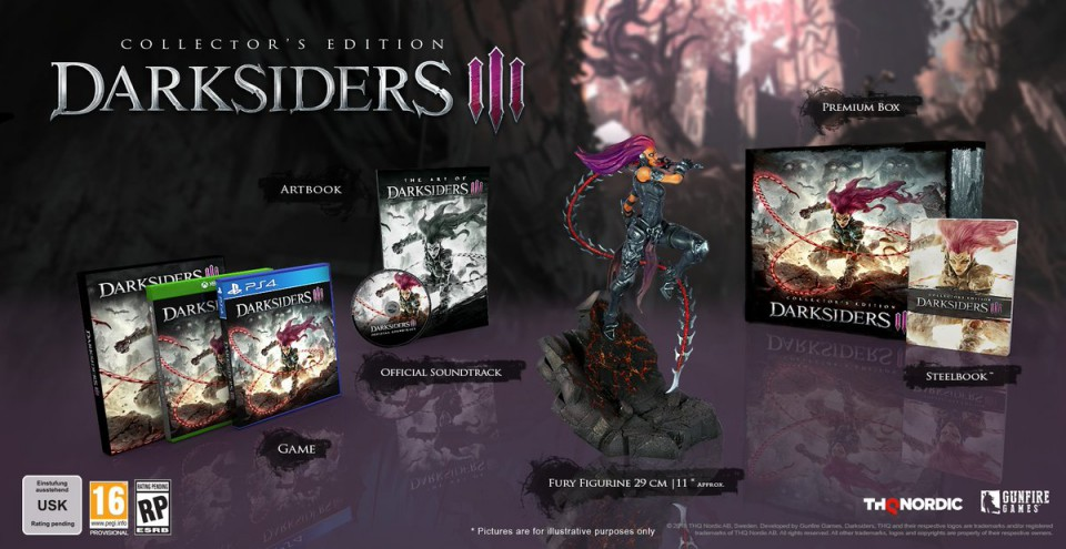 Darksiders 3 Edition Collector