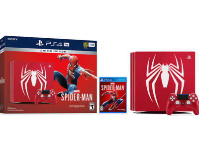 Spider-Man PS4 Pro collector