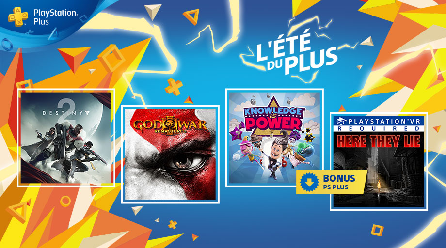 Ps Plus Septembre 2018