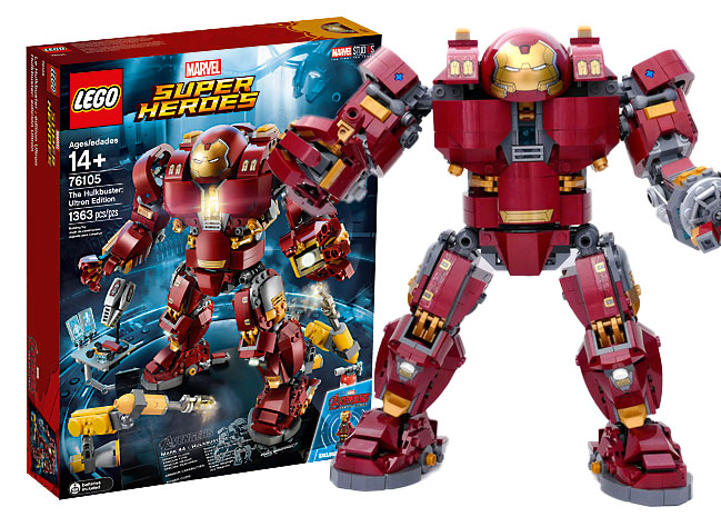 [Unboxing] The Hulkbuster Ultron edition de LEGO prend la pose
