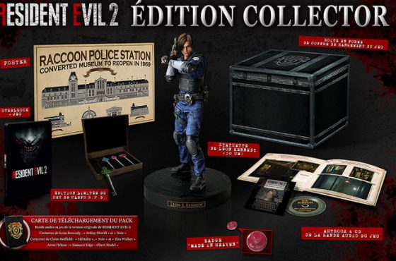 Resident Evil 2 Remake s'offre une édition collector