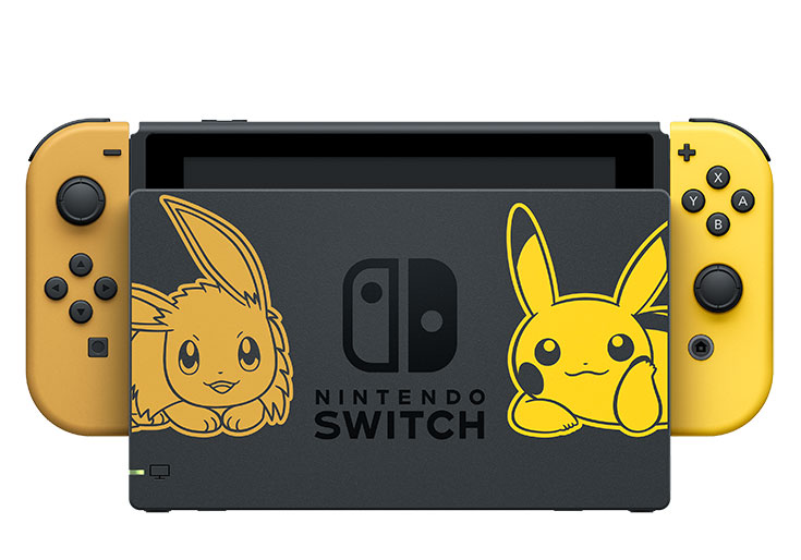 Pack Switch Pokemon Let's Go