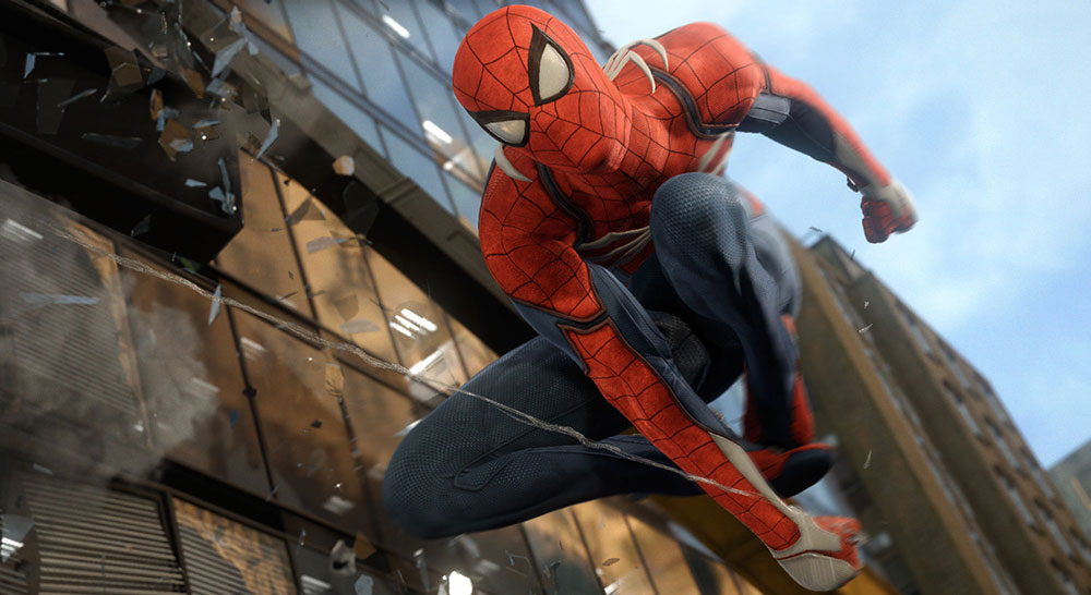 Test Spiderman PS4