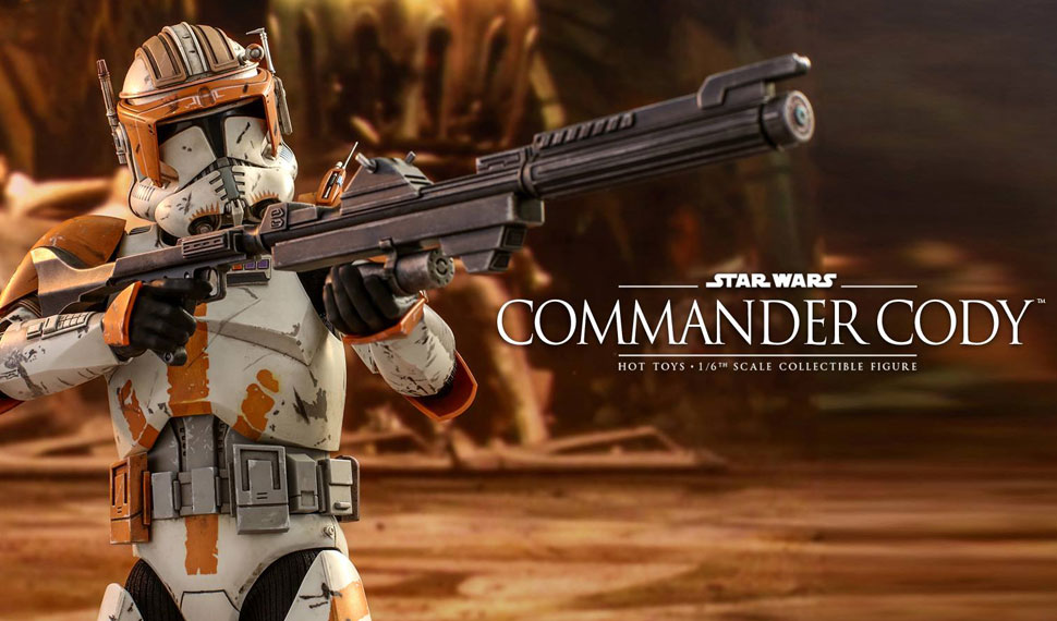 Hot Toys dévoile sa figurine du Commandant Cody – Star Wars