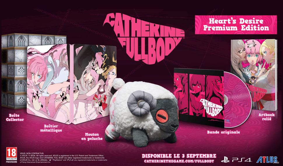 Catherine Full Body dévoile son édition collector