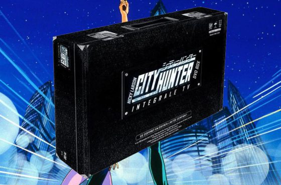 CITY HUNTER – Unboxing du coffret DVD Integrale – Valise collector