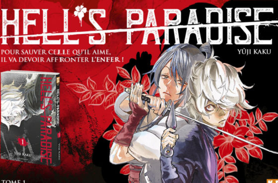 Le manga Hell's Paradise se dévoile en Press Kit