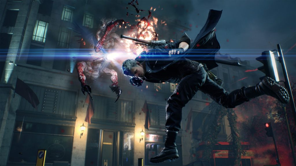 Test Devil May Cry V