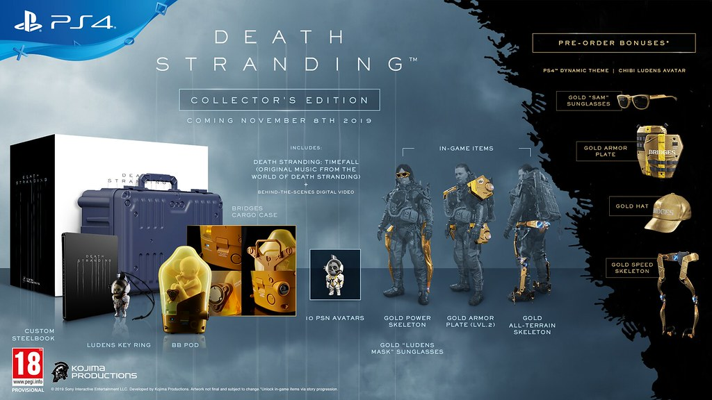 Death Stranding edition collector