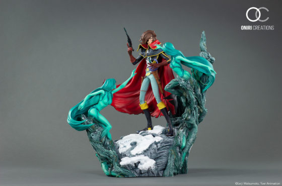 Oniri Creations dévoile sa sublime statue collector d'Albator