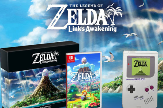 L'édition Collector de The Legend of Zelda : Link's Awakening