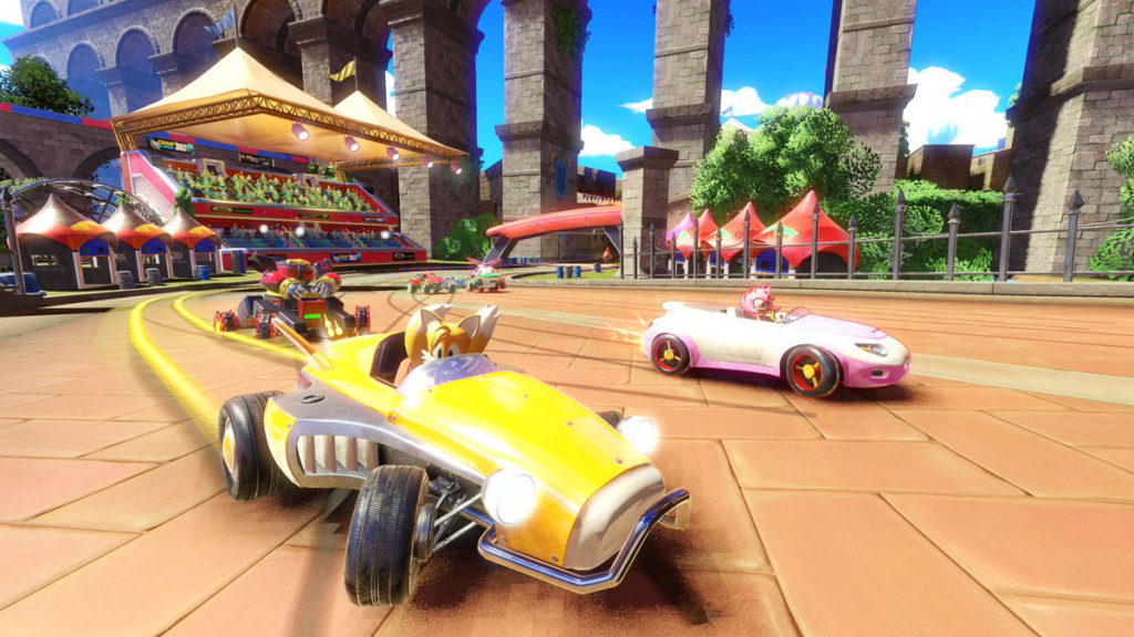 Test Sonic Team Racing