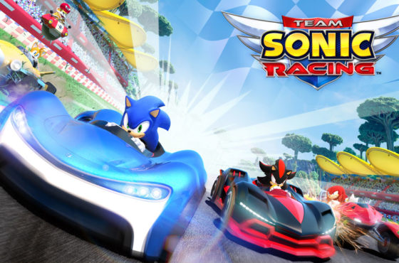 Test de Team Sonic Racing
