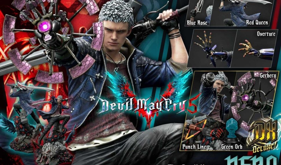 Prime 1 Studio dévoile une sublime statue de Nero issue de Devil May Cry V
