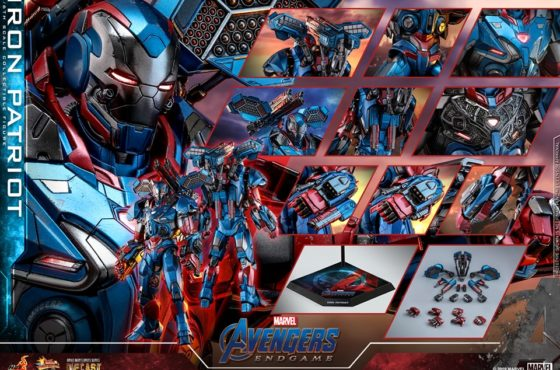 Hot Toys dévoile une sublime figurine d'Iron Patriot