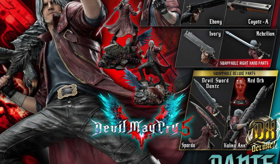 Prime 1 Studio dévoile une sublime statue de Dante issue de Devil May Cry V