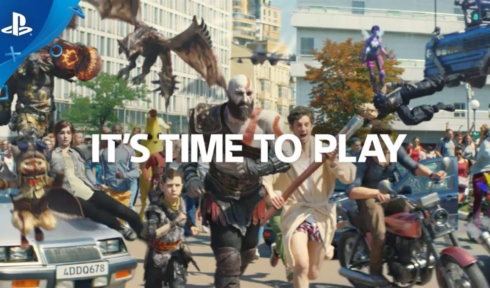 """It's Time to Play"" la nouvelle publicité culte de la PS4"