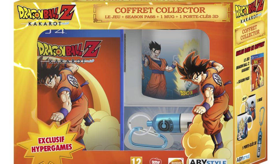 Dragon Ball Z: Kakarot PS4 Coffret Collector Exclusivité Auchan