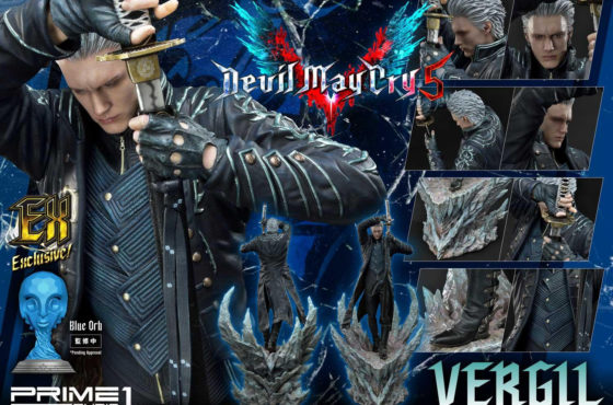 Prime 1 Studio dévoile une sublime statue de Vergil issue de Devil May Cry V