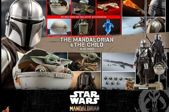 The Mandalorian and The Child se dévoile en figurine Hot Toys