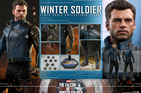 Hot Toys dévoile sa figurine du Winter Soldier