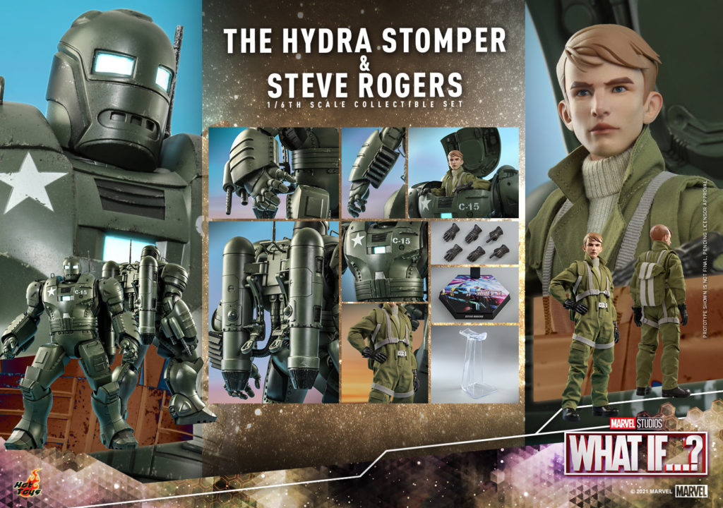 What If…? Steve Rogers and the Hydra Stomper par Hot Toys